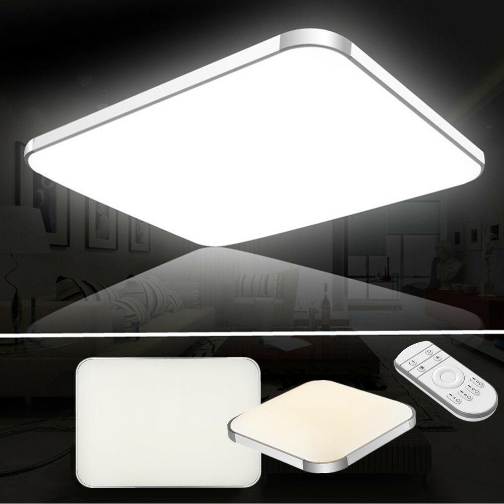 LED Deckenleuchte Deckenlampe 12W-64W Wohnzimmer Badleuchte Dimmbar Küchen Lampe