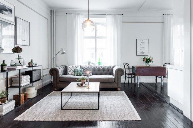 13 Ideen wie Sie ein kleines Wohnzimmer mit Essbereich