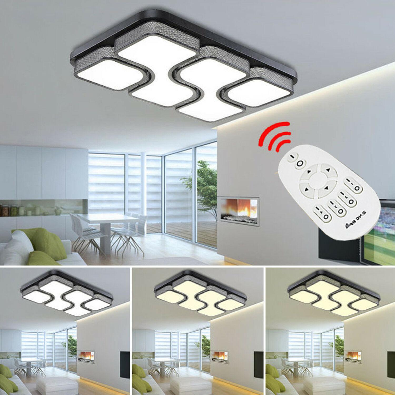 24W 80W Modern LED Deckenleuchte dimmbar Led Deckenlampe