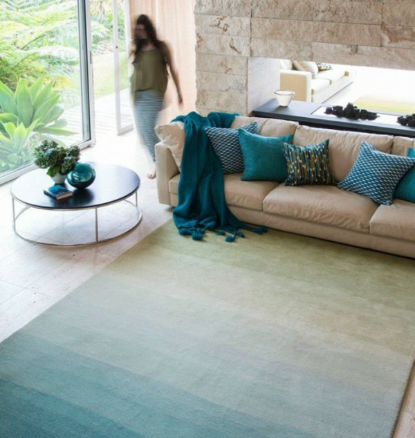 25 aufgefallene Designer Teppiche für jeden Wohnraum
