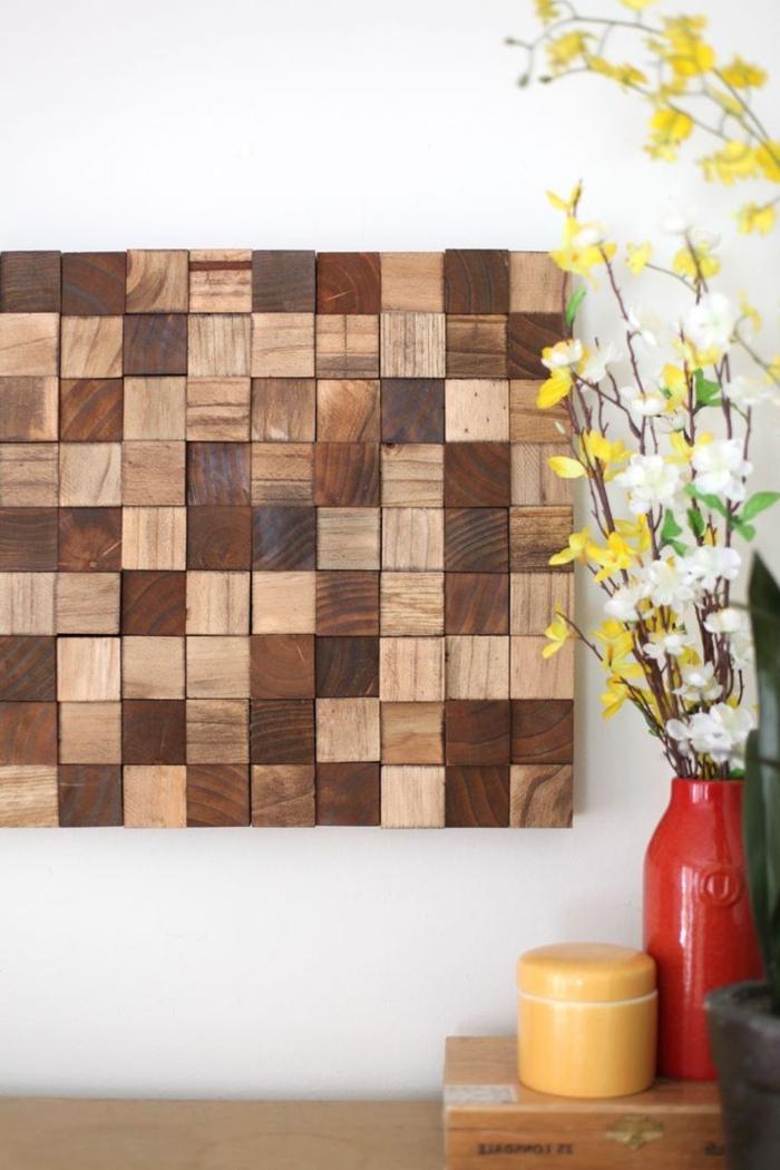 40 verblüffende Ideen für Wanddeko aus Holz Archzine