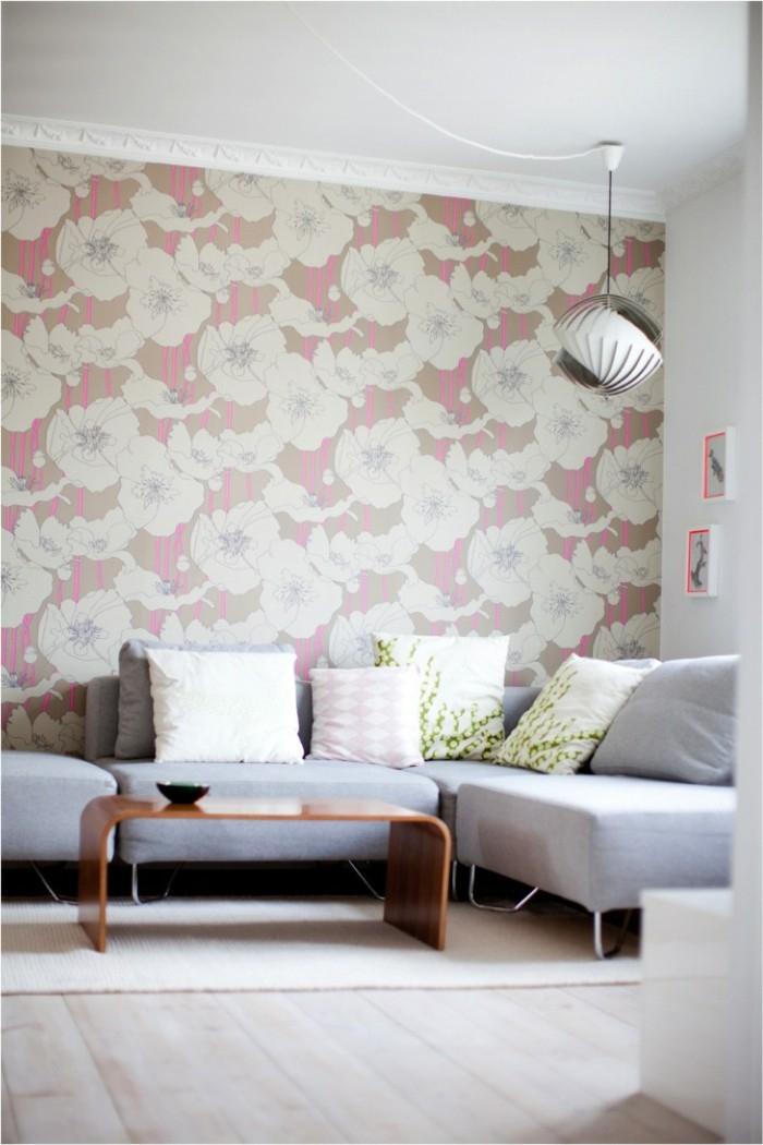 71 Wohnzimmer Tapeten Ideen wie Sie Wohnzimmerwände