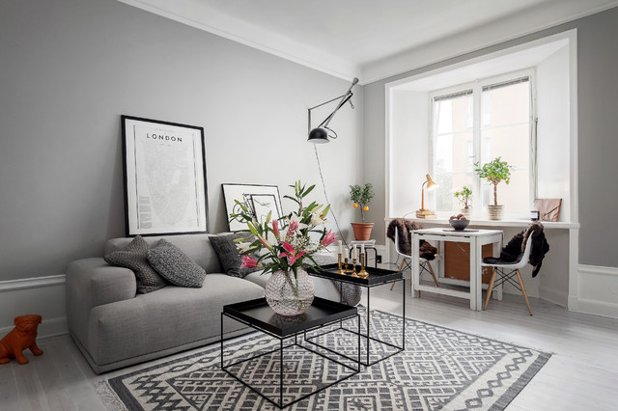 8 Gründe warum Wohnzimmer in grau nicht langweilig sind