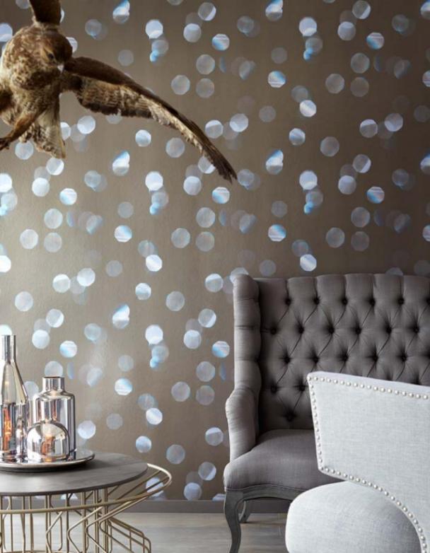 80 Wohnzimmer Tapeten Ideen – Coole Moderne Muster in