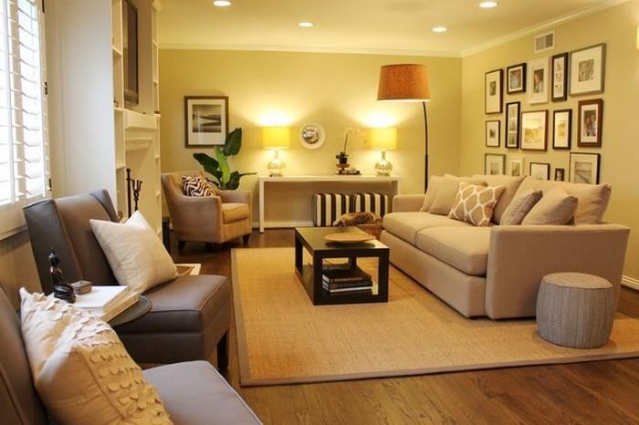 Wohnzimmer Farben 2016 Ideen