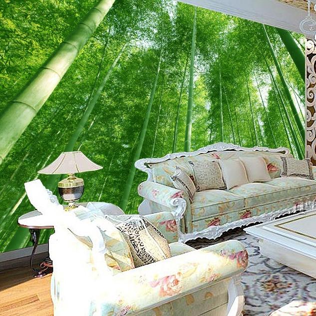 Aliexpress Bambus wald landschaft 3D Tapete großes