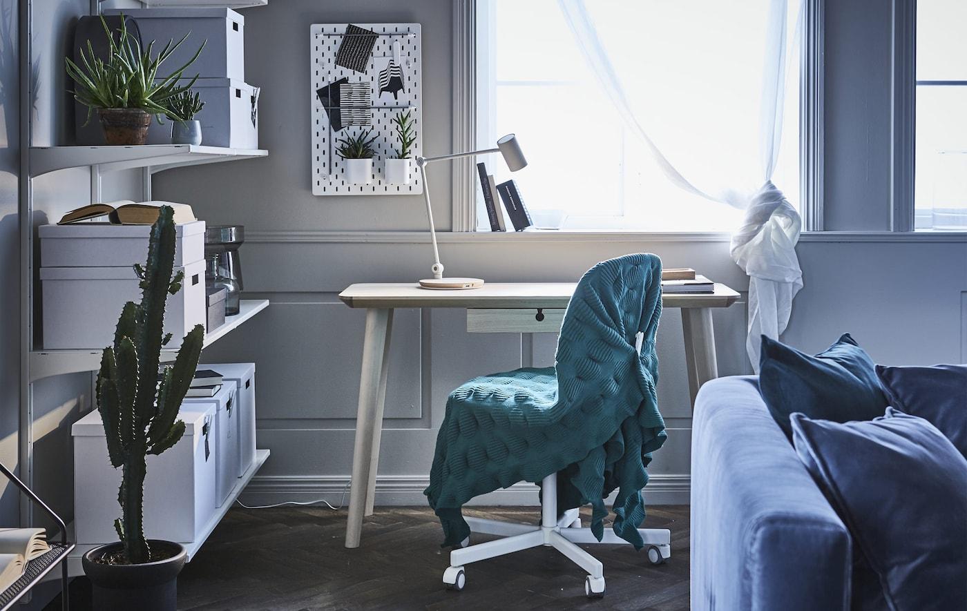 Arbeitsplatz im Wohnzimmer einrichten – IKEA IKEA