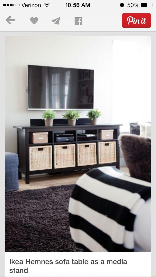 Baskets for storage in tv unit TV Schränke