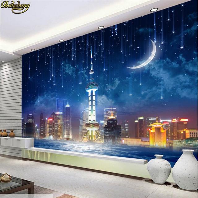 Beibehang foto Stern City tapete für wand visuelle effekte