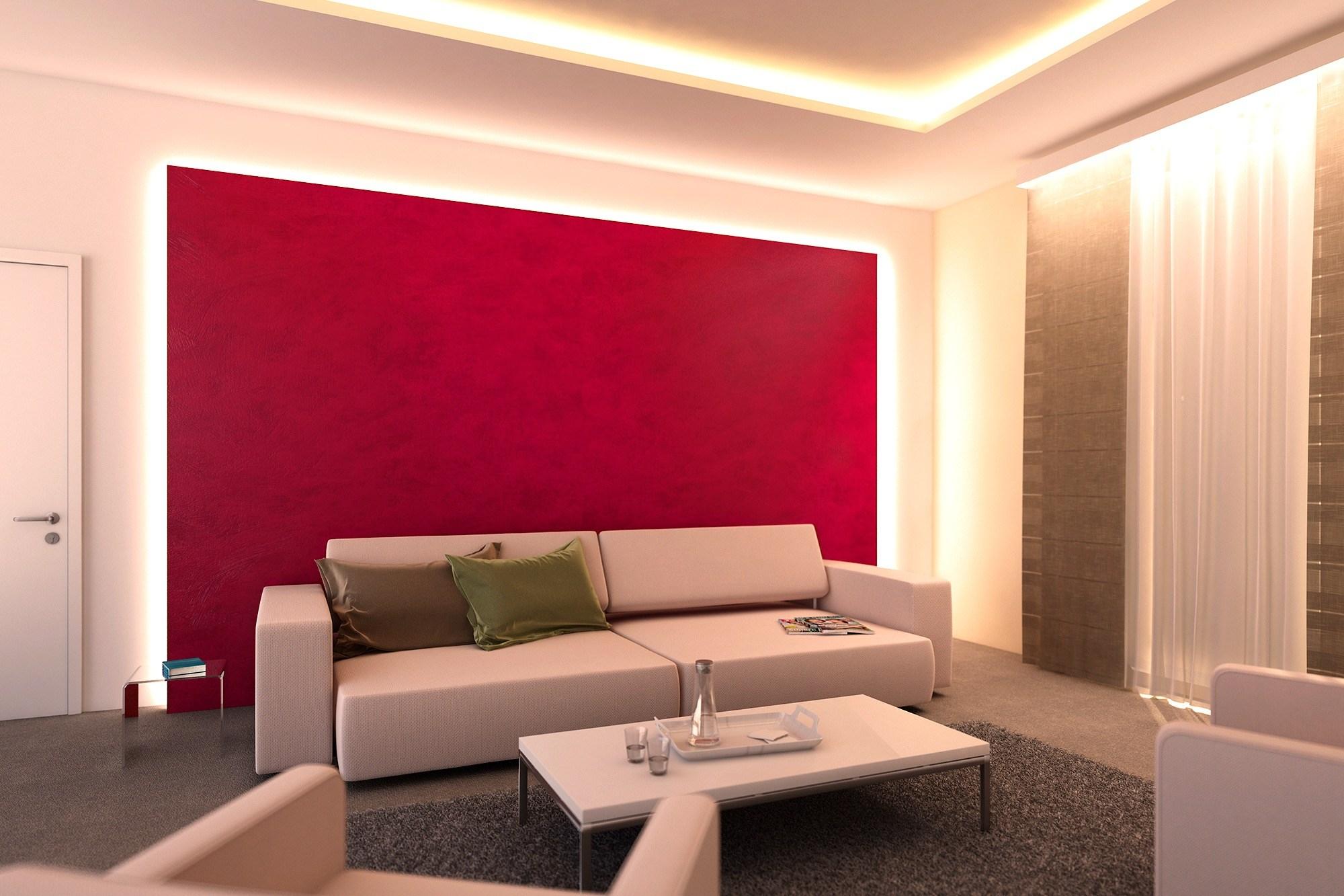 Led Wohnzimmer Konzept