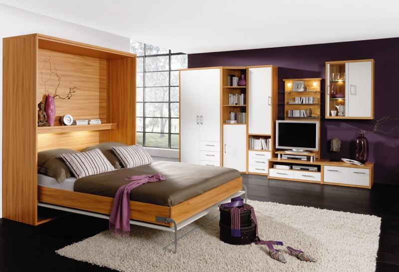 Bett von PRIESS Platzsparend und elegant zugleich