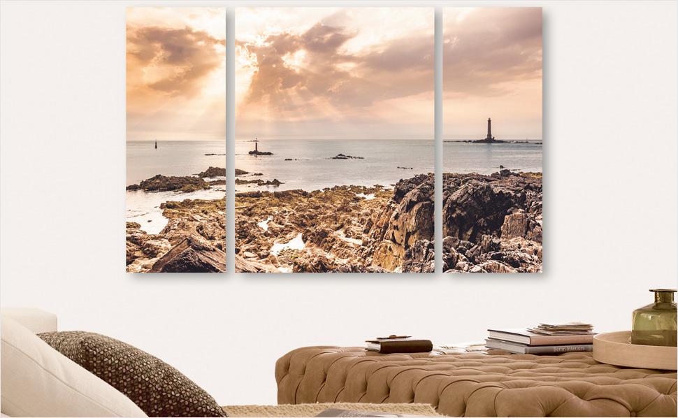 Bilder fürs Wohnzimmer bei HORNBACH