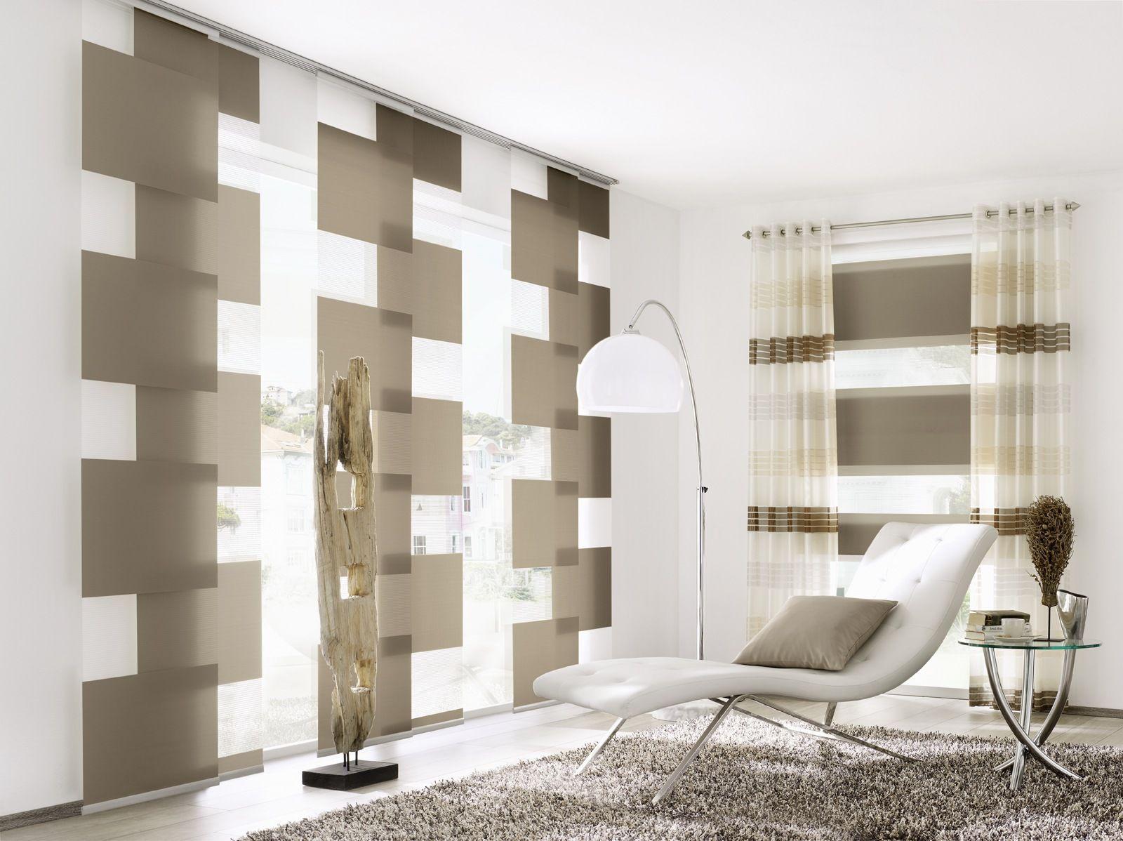 Bildergebnis für moderne gardinen wohnzimmer