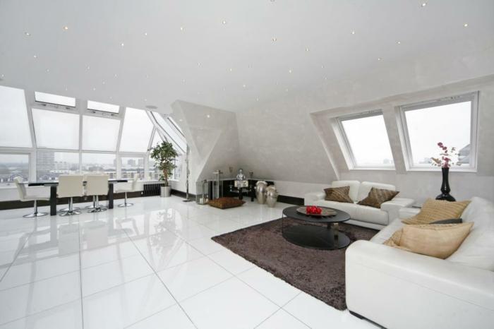 Bodenfliesen Wohnzimmer Schöne Ideen für den Wohnzimmerboden
