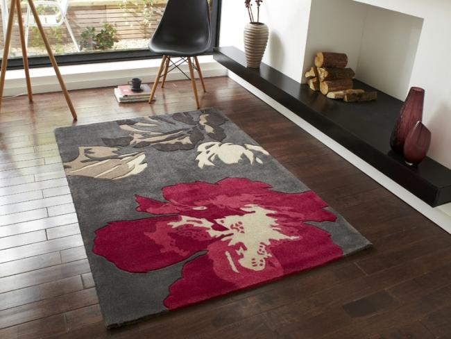 Bunte Teppiche aus In n und China Von OCR in Europa