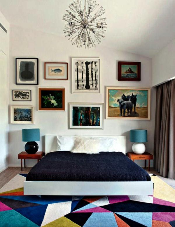 Bunte Teppiche im Innendesign Designer Einrichtungslösungen