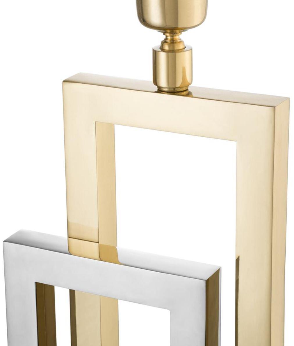 Casa Padrino Designer Tischleuchte Tischlampe Luxus