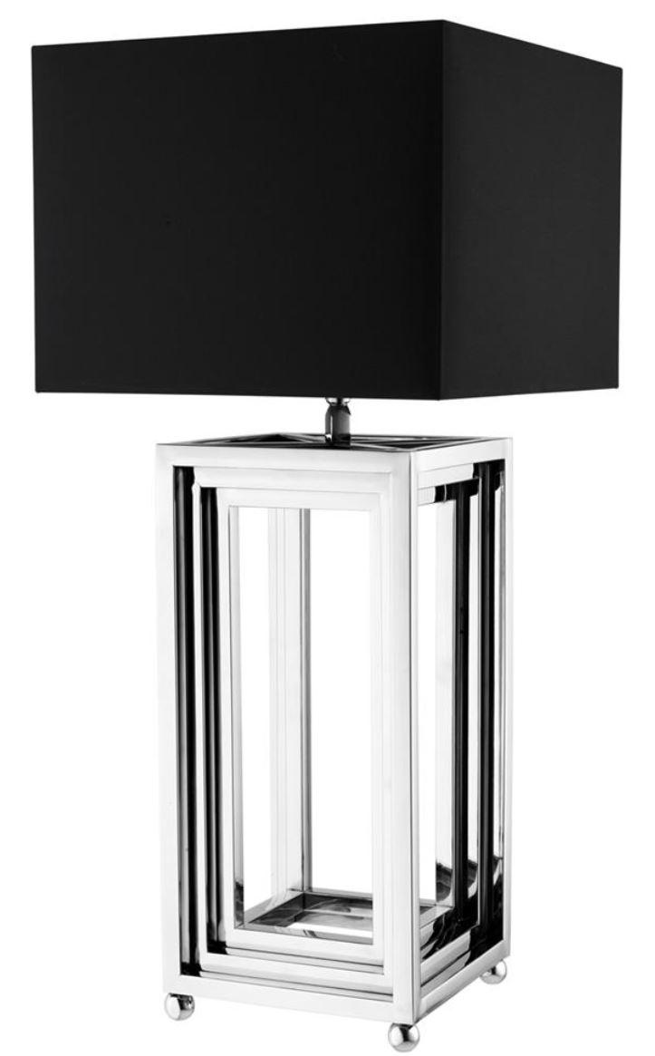 Casa Padrino Luxus Wohnzimmer Tischlampe Tischleuchte