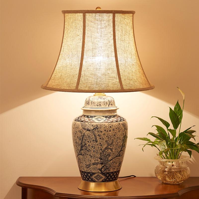 China Antike Wohnzimmer Vintage Tischlampe Porzellan