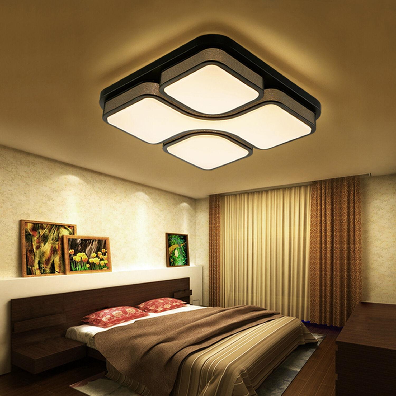Design LED Deckenlampe Deckenleuchte 24W 80W wohnzimmer