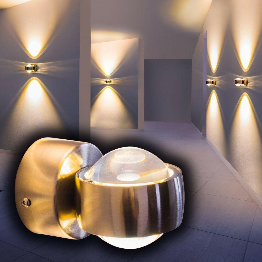Design Wandleuchte LED Wandlampe Wohnzimmer Wandstrahler