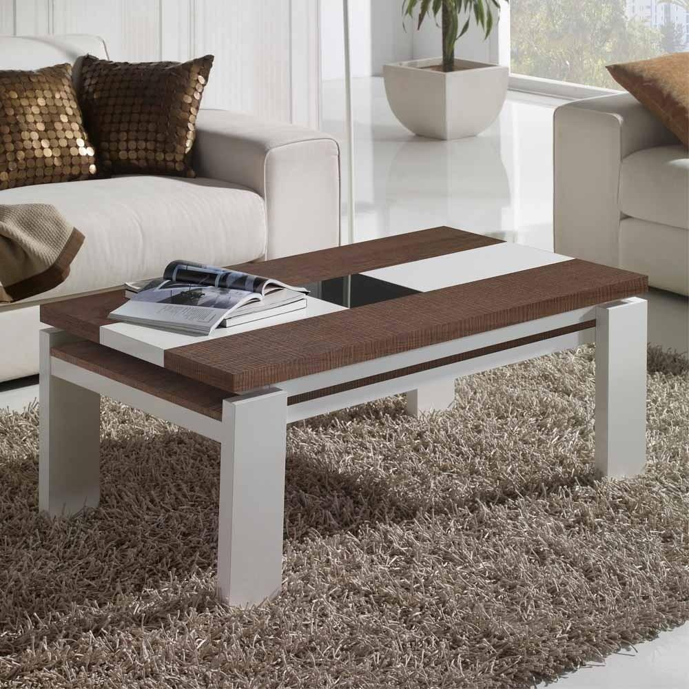 Design Wohnzimmer Tisch dreifarbig Bicarion