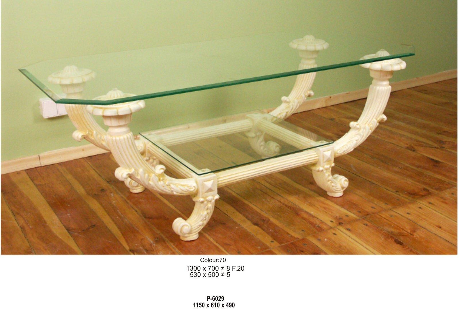 Designer Couchtisch Wohnzimmer Tisch Deko König