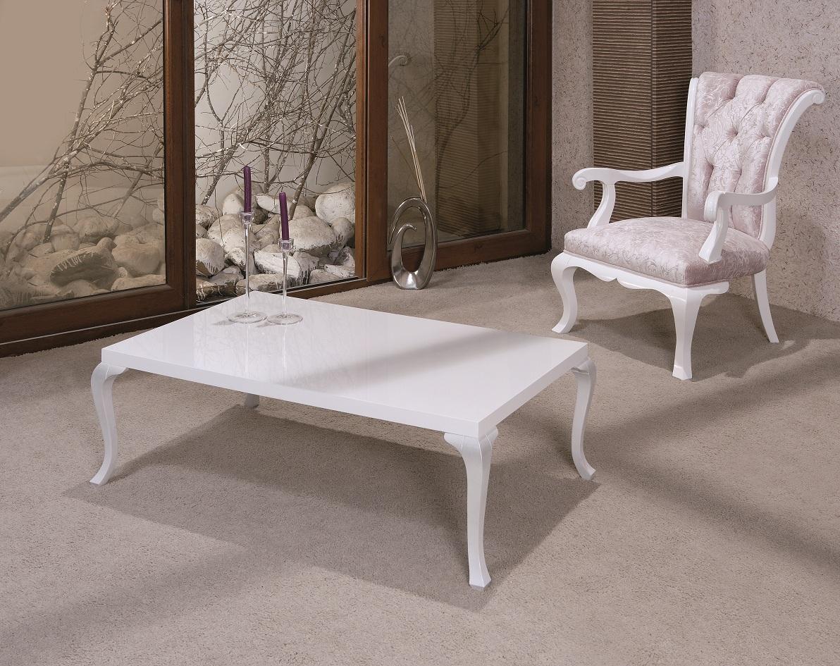 Designer Couchtisch Wohnzimmer Tisch weiß schwarz