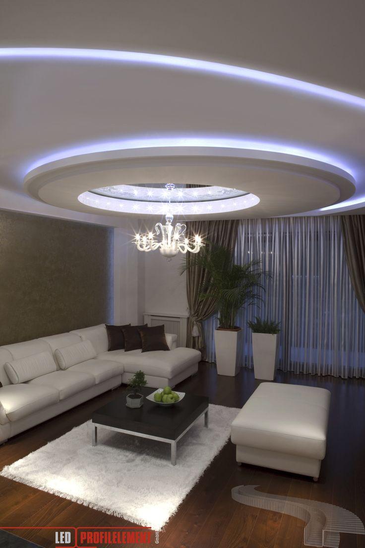 Die besten 25 Led beleuchtung wohnzimmer Ideen auf
