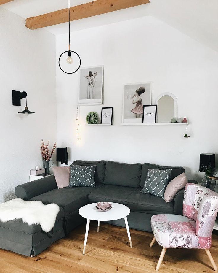 Die besten 25 Sofa grau Ideen auf Pinterest
