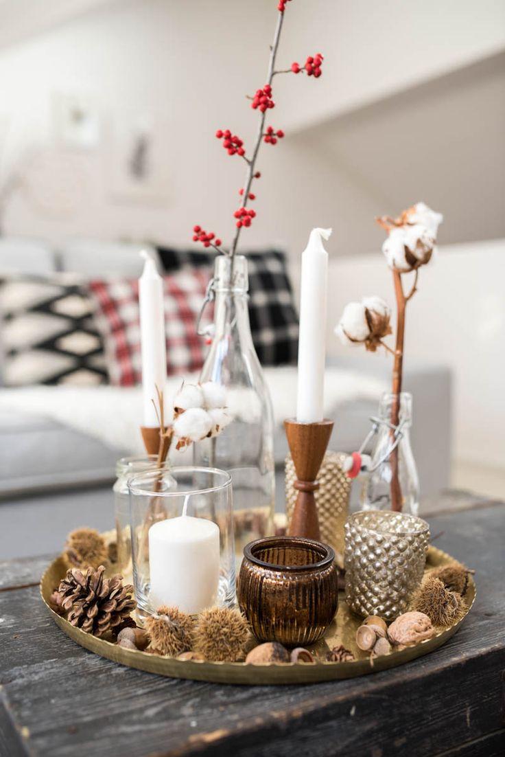 Die besten 25 Wohnzimmer weihnachtlich dekorieren Ideen