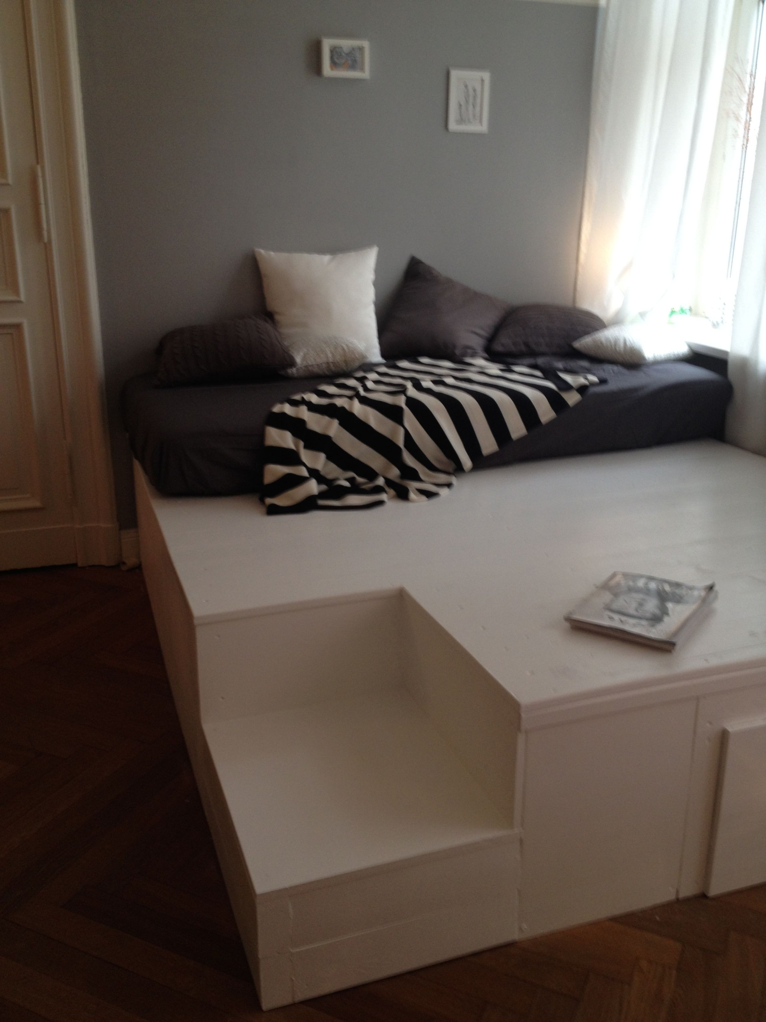 Podest Bauen Wohnzimmer Tipps
