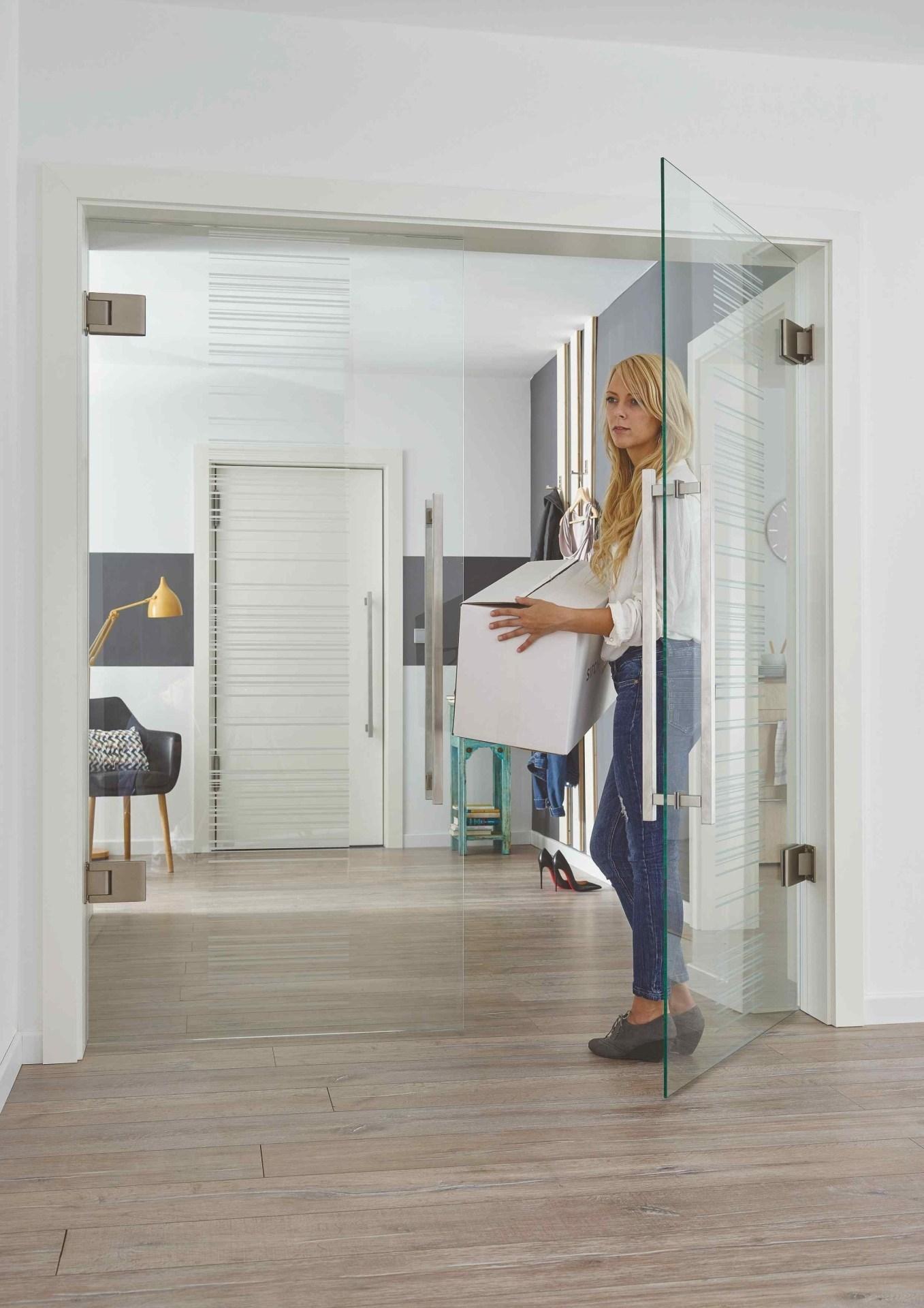 Doppeltür Glas Wohnzimmer
