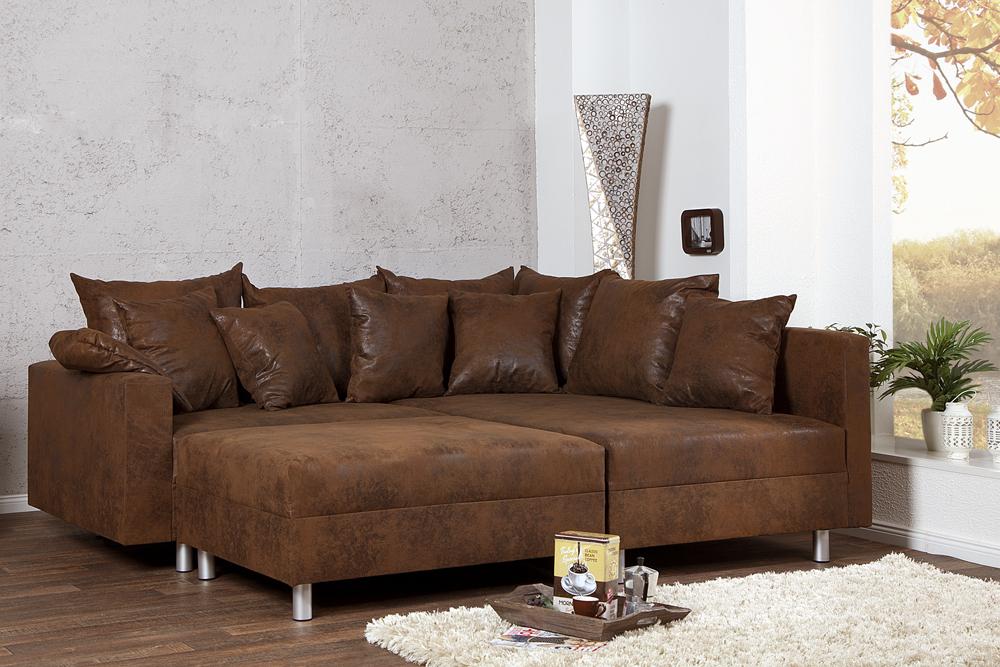 Ecksofa LOFT XL Design Sofa Wohnlandschaft Couch
