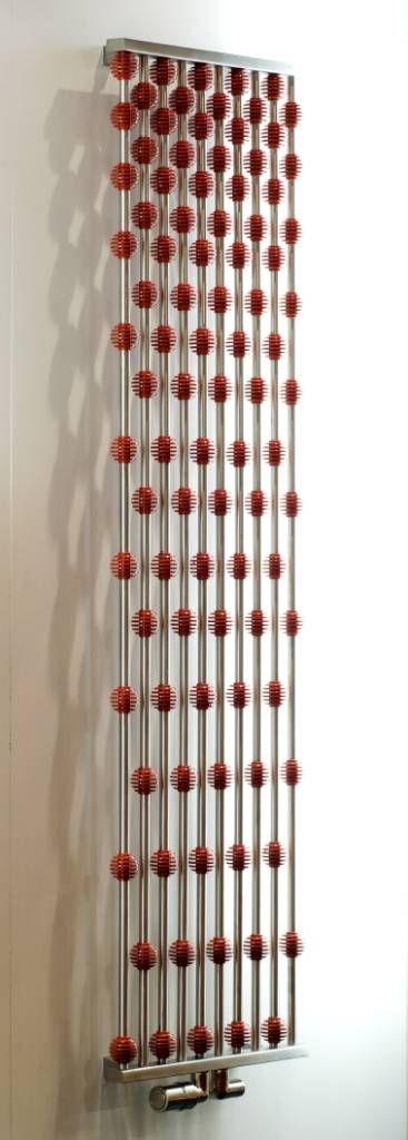 Einzigartige vertikale Design Heizkörper aus Edelstahl