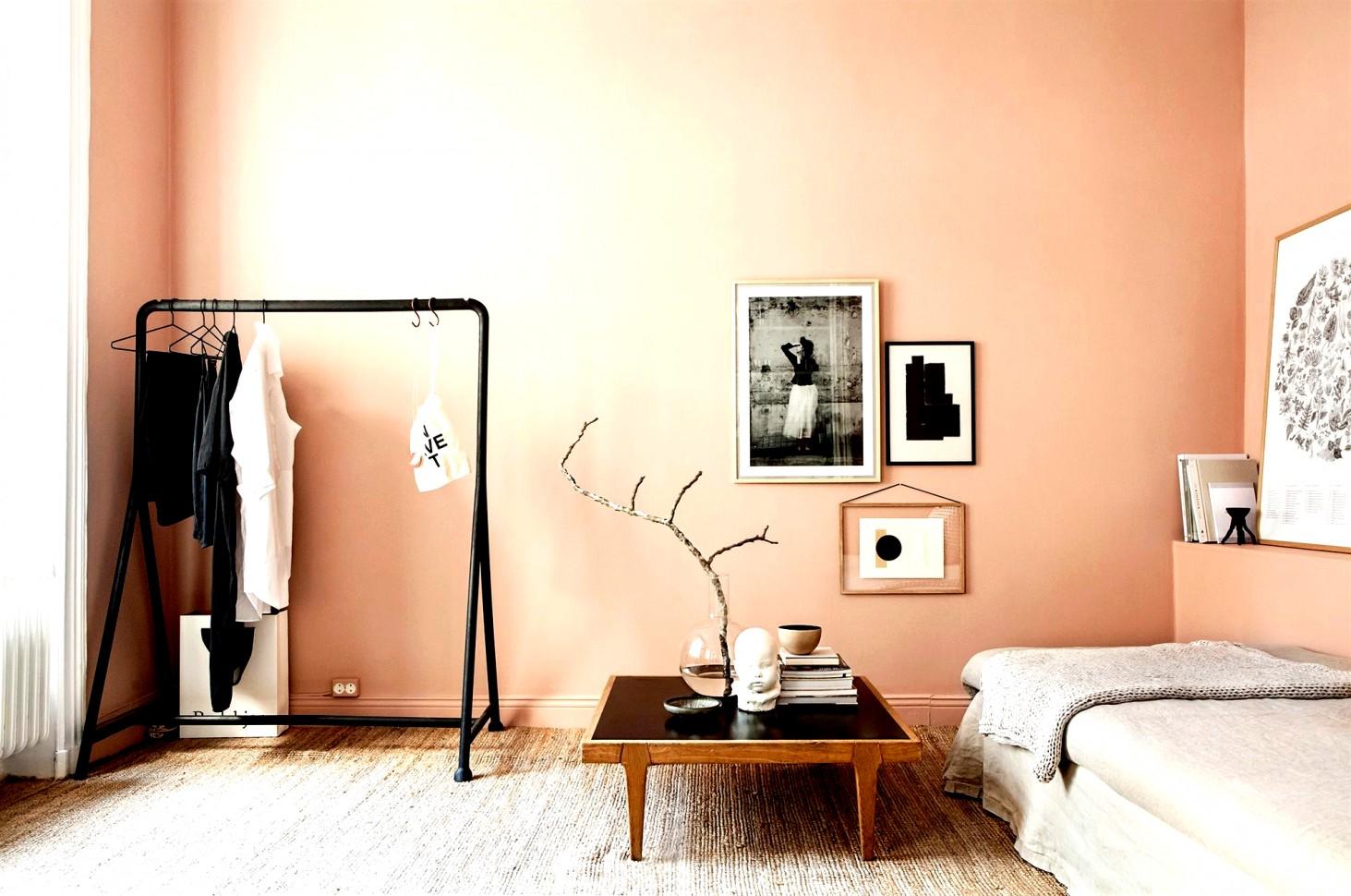 Erstaunlich Von Apricot Wandgestaltung Malerei Wohnzimmer