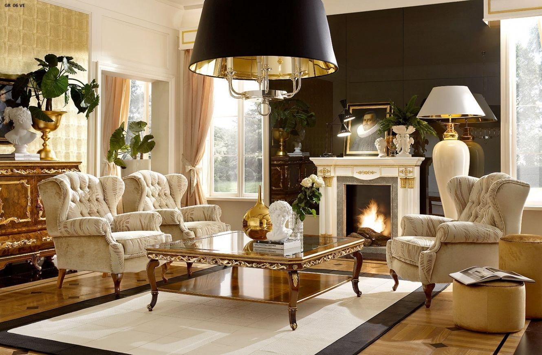 Erstaunlich Wohnzimmer Barock Einrichten