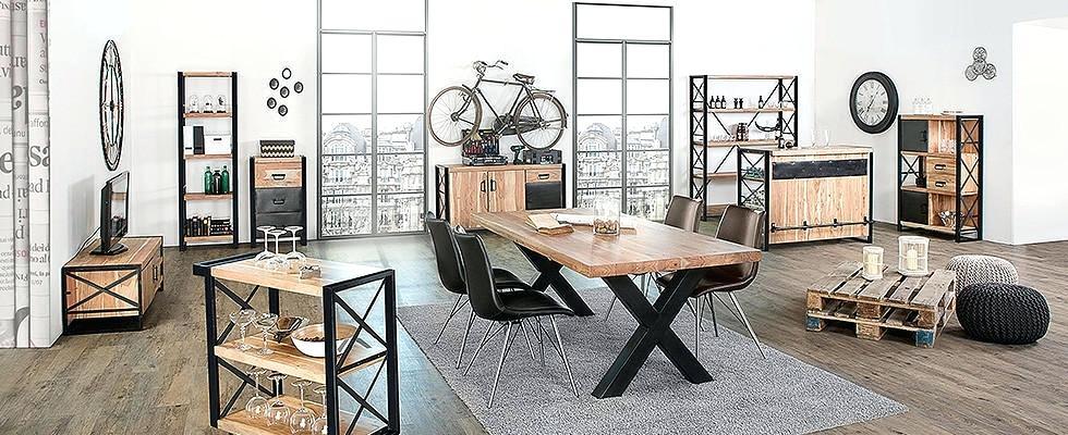 Esstisch Industrial Style Industrial Look 26 Stylische