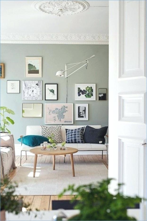 Farbige Wandgestaltung Wohnzimmer Wohndesign Ellenberger