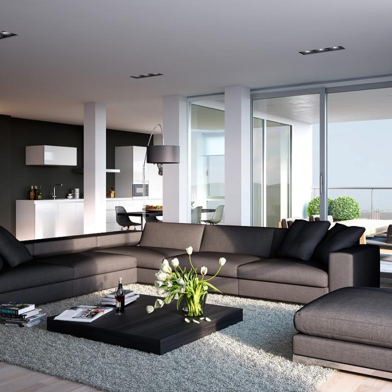 fene Küche mit Wohnzimmer Pro Contra und 50 Ideen