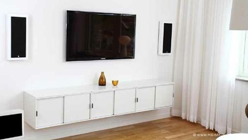 FLATBOX Flache Lautsprecher für Wand Heimkinora