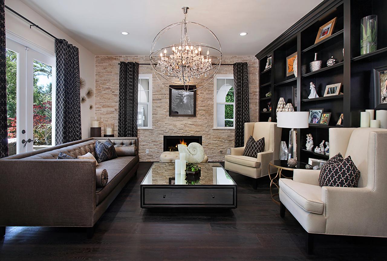 Fotos von Wohnzimmer Innenarchitektur Sofa Tisch Sessel