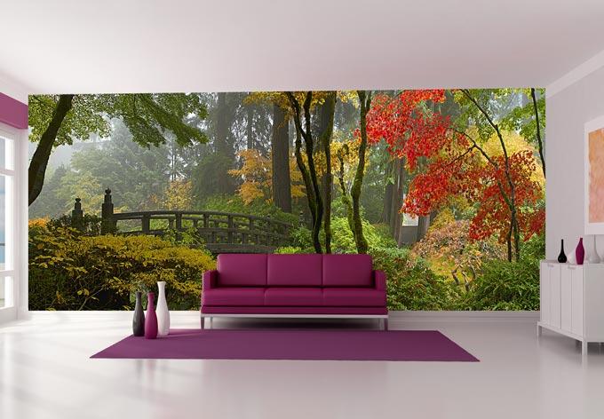 Fototapete Japanischer Garten von K&L Wall Art