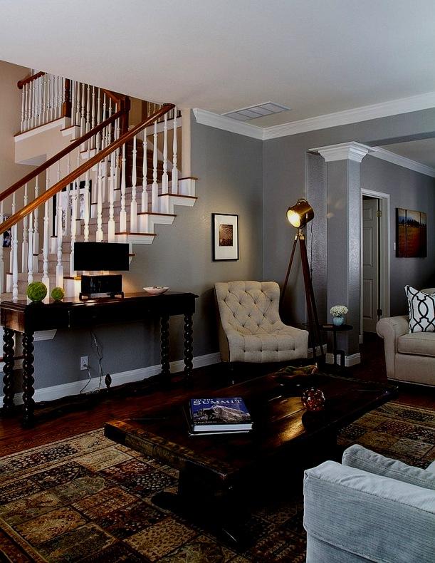 Graue Wand Wohnzimmer Farbideen Fürs Wände Grau Streichen
