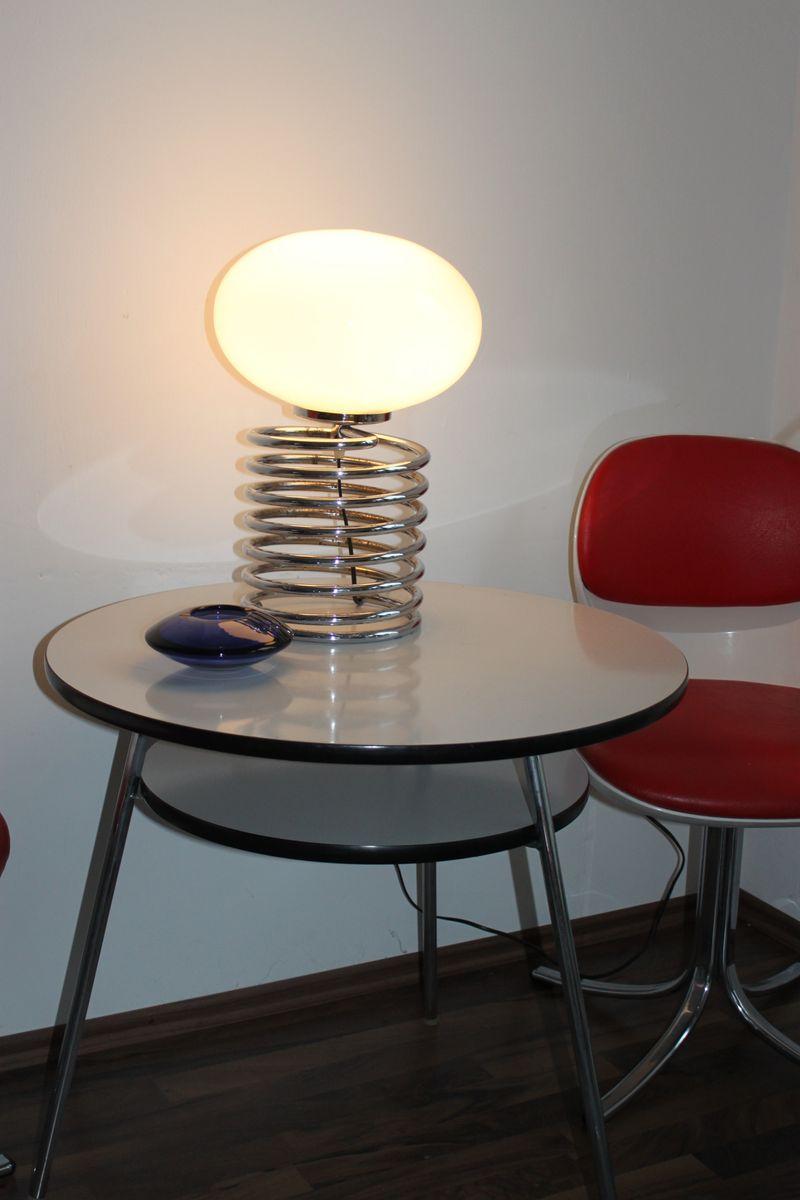 Große Feder Lampe von Honsel 1960er bei Pamono kaufen