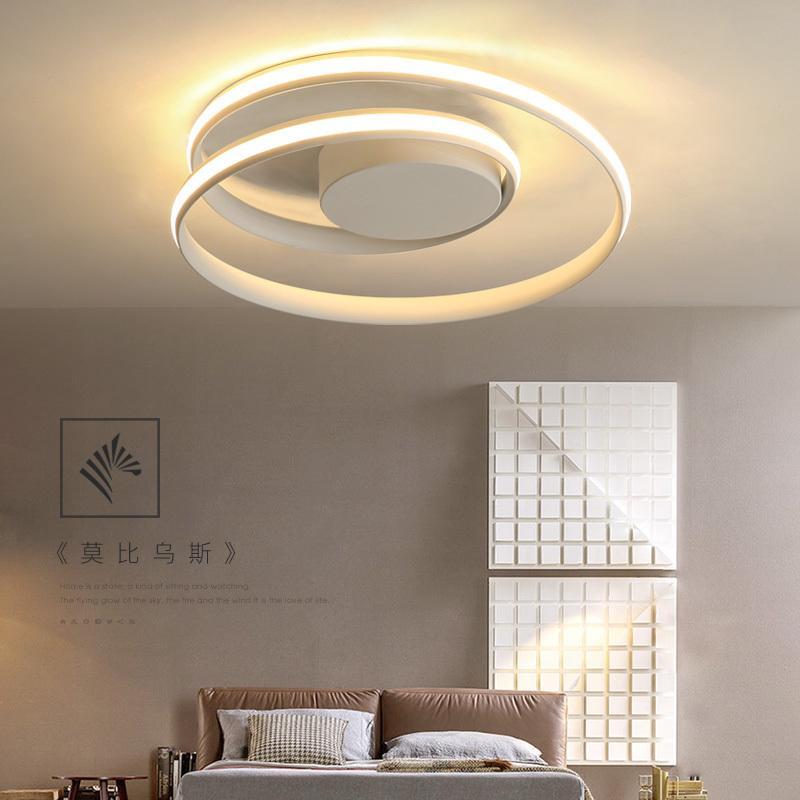Großhandel Minimalismus Moderne LED Deckenleuchten Schwarz