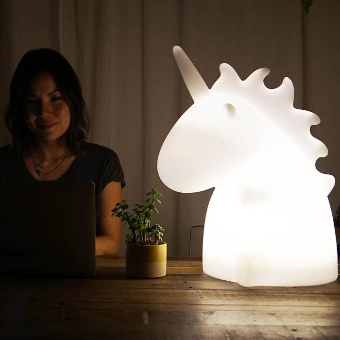Grosse Einhorn Lampe Gad s und Geschenke