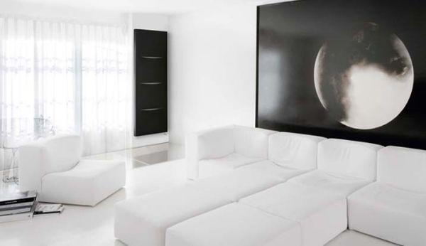 Heizkörper moderne wohnzimmer caleido Living
