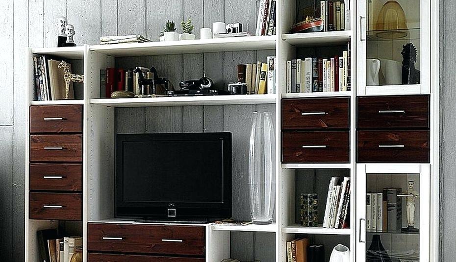 Hochschrank Wohnzimmer Holz