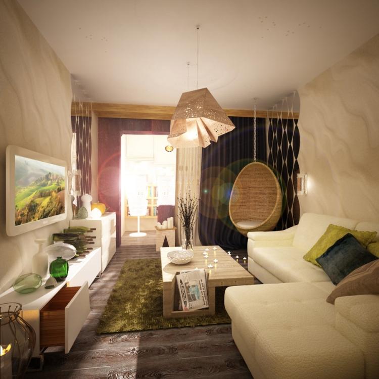 Ideen für das kleine Wohnzimmer – 30 inspirierende Bilder